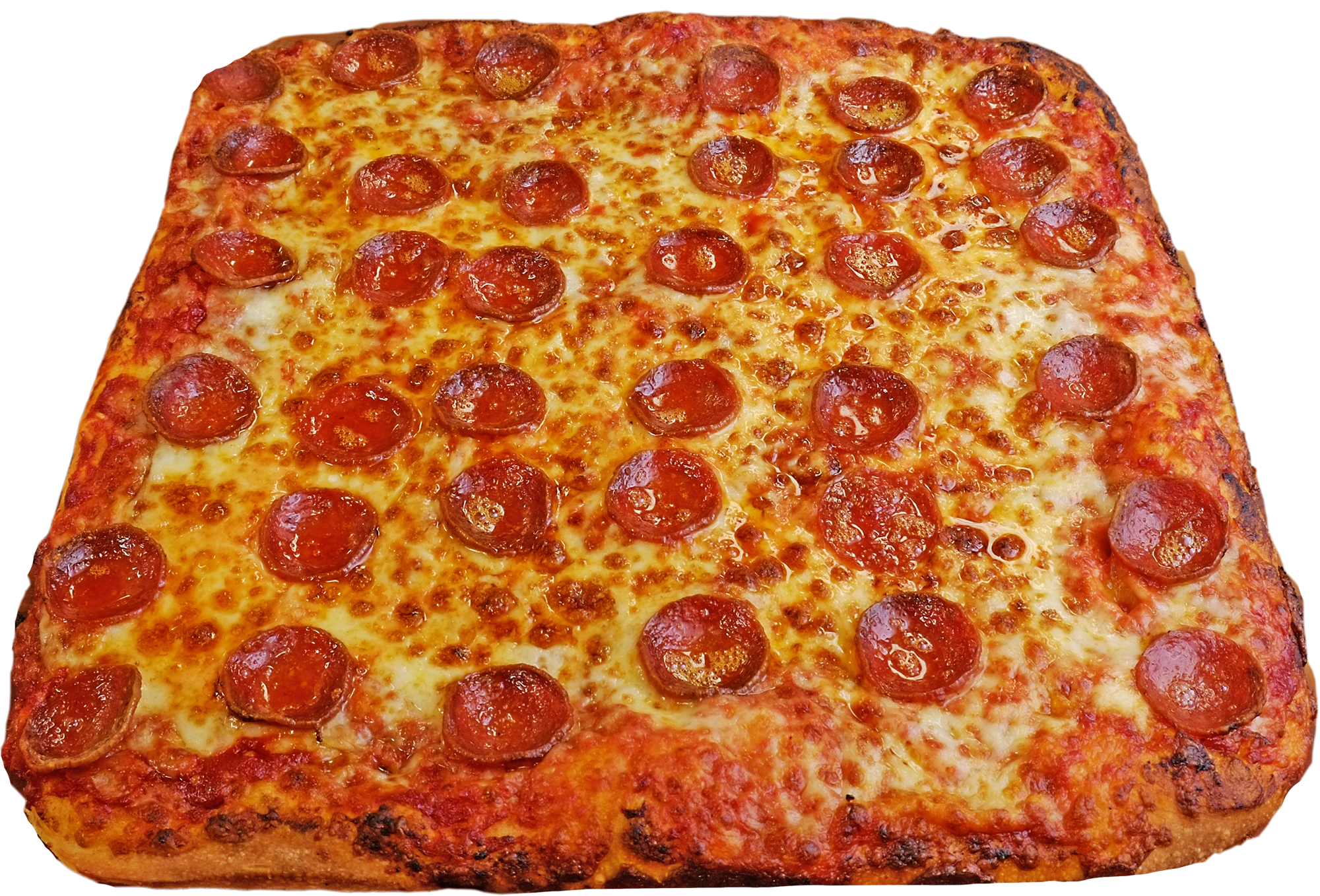 Full Pepperoni and Cheese Pizza